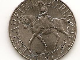 Anglija 25 new pence 1977 #920