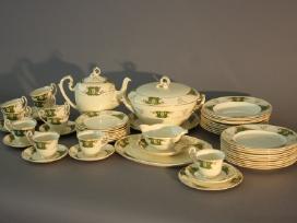 Antikvariniai, senoviniai porcelianiniai indai