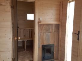 Pirtys .medinine pirtis .sauna 5m tik 3000eur