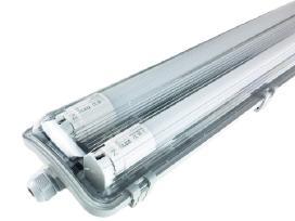 T8 šviestuvai su Led lempomis 60,120,150cm Ip65