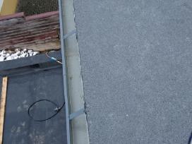 Bituminių prilydomų stogų dengimas - nuotraukos Nr. 8