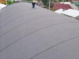Bituminių prilydomų stogų dengimas - nuotraukos Nr. 10