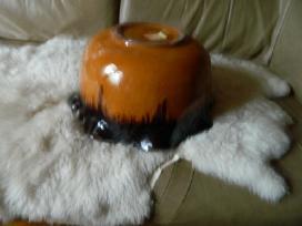 Elnio ragai,keramikine vaza gelems - nuotraukos Nr. 3
