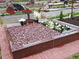 Kapų tvarkymas, priežiūra, granito gaminiai