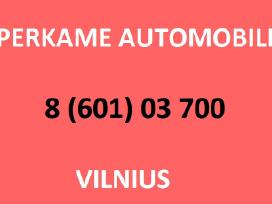 Automobiliu supirkimas Vilniuje 8 601 03700