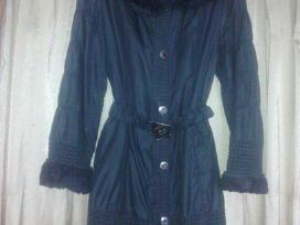 Juodas paltas pavasario sezonui X L arba Ldydis