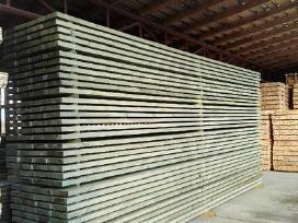 Aukščiausios kokybės statybinė impregnuota mediena