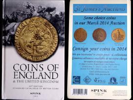Spink,anglišku monetų katalogas(2014)