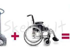 Laiptų (už)kopiklis neįgaliojo vežimėlio kėlimui - nuotraukos Nr. 6