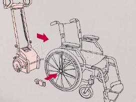 Laiptų (už)kopiklis neįgaliojo vežimėlio kėlimui - nuotraukos Nr. 7