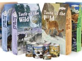 Taste of the wild maistas šunims ir katėms