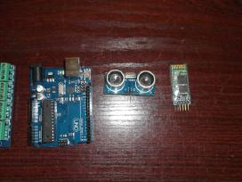 Arduino uno, nano, ethernet shield ir kita
