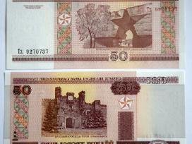 Baltarusijos Rubliai 2000 m. Unc - nuotraukos Nr. 5