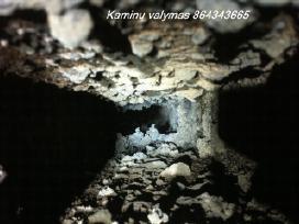 Kaminų Valymas ideklu darymas kaminun skardinimas