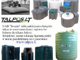 Dyzelinio kuro/trąšų talpos, cisterna, rezervuarai