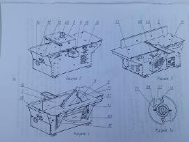 Medžio obliavimo - pjovimo staklės 2.4kw - nuotraukos Nr. 6