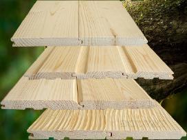 Kokybiškos dailylentės, pjautinė, obliuota mediena