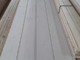 Vidaus balintos, lauko dailylentės, terasų lentos