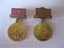 CCP medaliai 2 vnt.zr. foto.