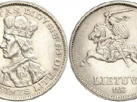 Brangiai superkame auksines ir sidabrines monetas