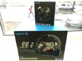 Naują Logitech G29 vairą tinka Sony PS3 Ps4 ir Pc