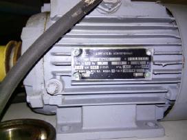 Naudoti varikliai 0,2-5,5 kw, reduktoriai ir kt.