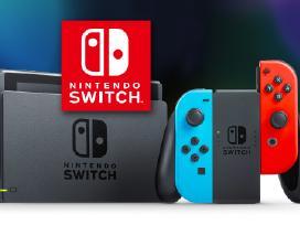 Naujas Nintendo Switch pilkas ir spalvotas