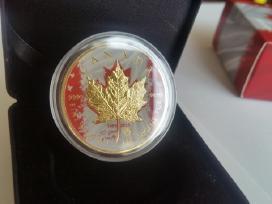 Sidabriniai Kanados 5 doleriai Canada Silver $5
