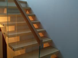 Laiptai, - Projektavimas / Gamyba / Montavimas - nuotraukos Nr. 2