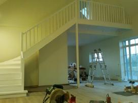 Laiptai, - Projektavimas / Gamyba / Montavimas - nuotraukos Nr. 9