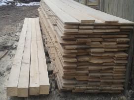 Statybinė mediena, impregnavimas, obliavimas