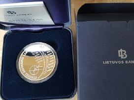 20 Eurų moneta, Struvės geodeziniam lankui, Unesco - nuotraukos Nr. 2