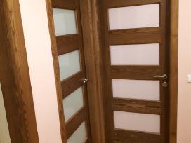 Profesionali medžio masyvo durų gamyba. - nuotraukos Nr. 9