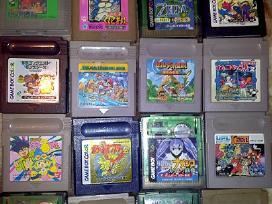 Originalūs Nintendo Gameboy žaidimai