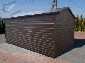Rudeninė Akcija! Skardinis garažas Superline-plius - nuotraukos Nr. 4