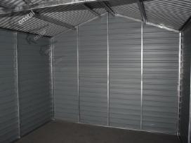 Rudeninė Akcija! Skardinis garažas Superline-plius - nuotraukos Nr. 8