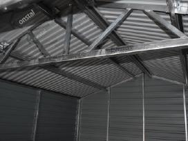 Rudeninė Akcija! Skardinis garažas Superline-plius - nuotraukos Nr. 9