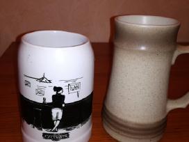 Parduodami alaus bokalai (trys rūšys)