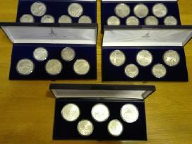 Maskvos olimpiada 80,28 monetos,630 gr sidabro