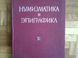 """ Numizmatika i epigrafika"" 11 tomas 1974m. Maskva"