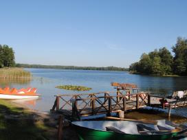 Komfortas ir poilsis - sodyboje ant ežero kranto