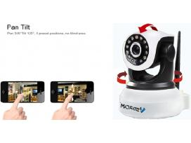 Ip valdoma wi-fi kamera 720p ir 1080p tik iš rebus