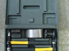 Įrankiai kėbulo remontui įvairus