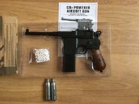 Airsoft 2 pasaulinio karo pistoletai metaliniai