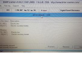Diagnostikos laidas Bmw Inpa, Bmw Scanner 1.4.0