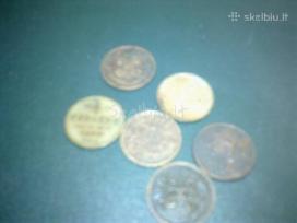 Parduodu carinės rusijos kolekciniu monetu