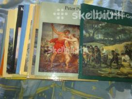 Katalogai pasaulio dailininku 15vien. kaina 75 eur