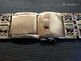 Pirksiu Rusu gamybos auksine laikrodžio apyranke