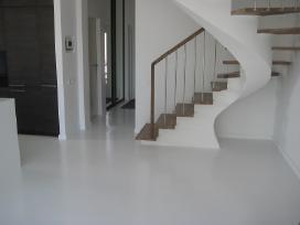 Poliuretaninės grindys, įrengimas - nuotraukos Nr. 6