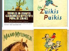 Perku vaikiškas senoviškas knygas iki 1965 m